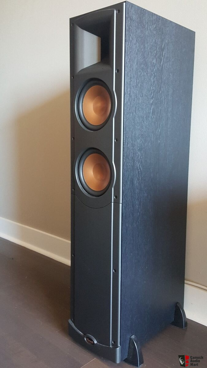 klipsch rf62 rc500 and rs42 ii speakers photo 1305473 canuck audio mart. Black Bedroom Furniture Sets. Home Design Ideas