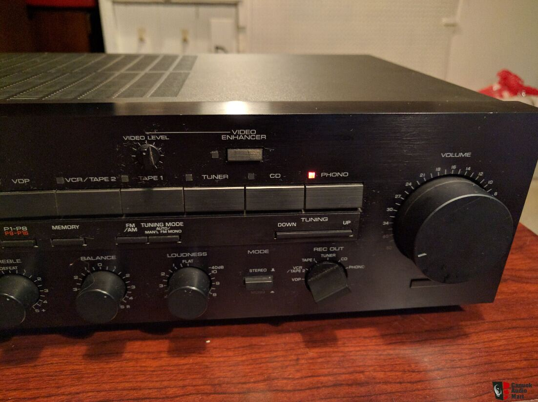 yamaha rx 700u receiver photo 1310710 canuck audio mart