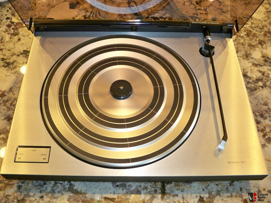 Bang & Olufsen Beogram 1602 With MMC20EN Cartridge Photo ...