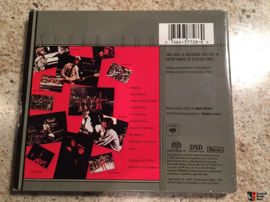 Toto IV Stereo Sacd for sale Photo #1325188 - US Audio Mart