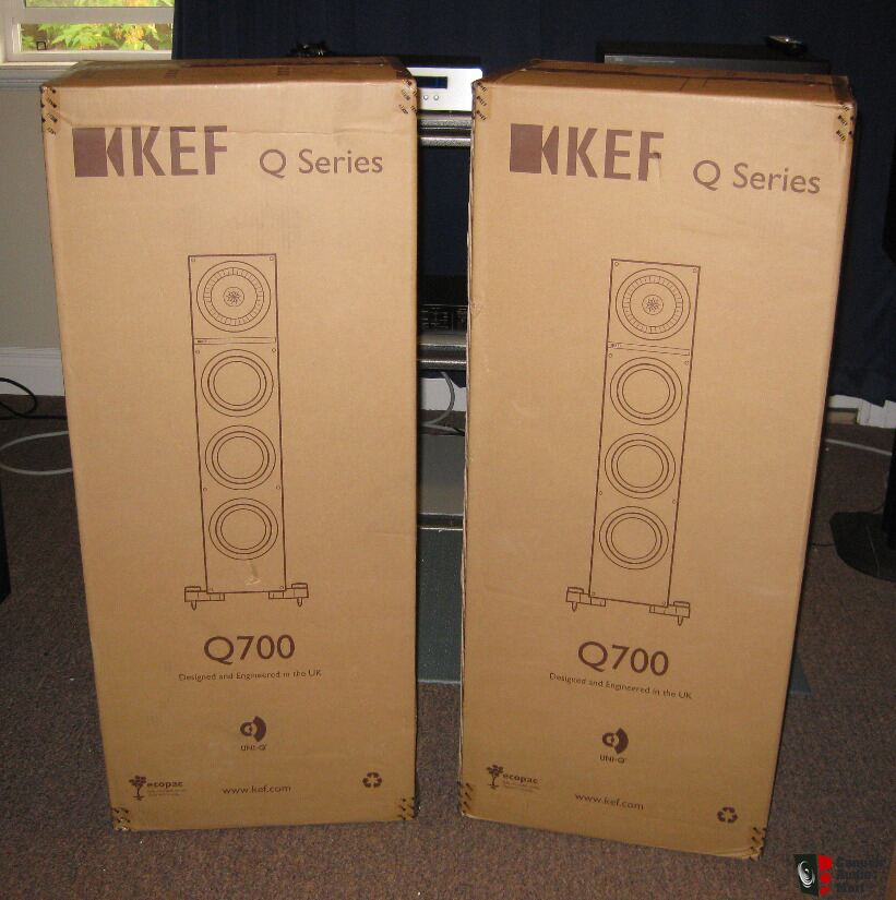 Kef Q700 Speakers New Unused In Sealed Box Price Drop