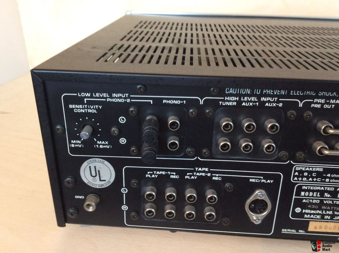 Hitachi  Lo-d  Ha-1100 Integrated Amp Photo  1335060