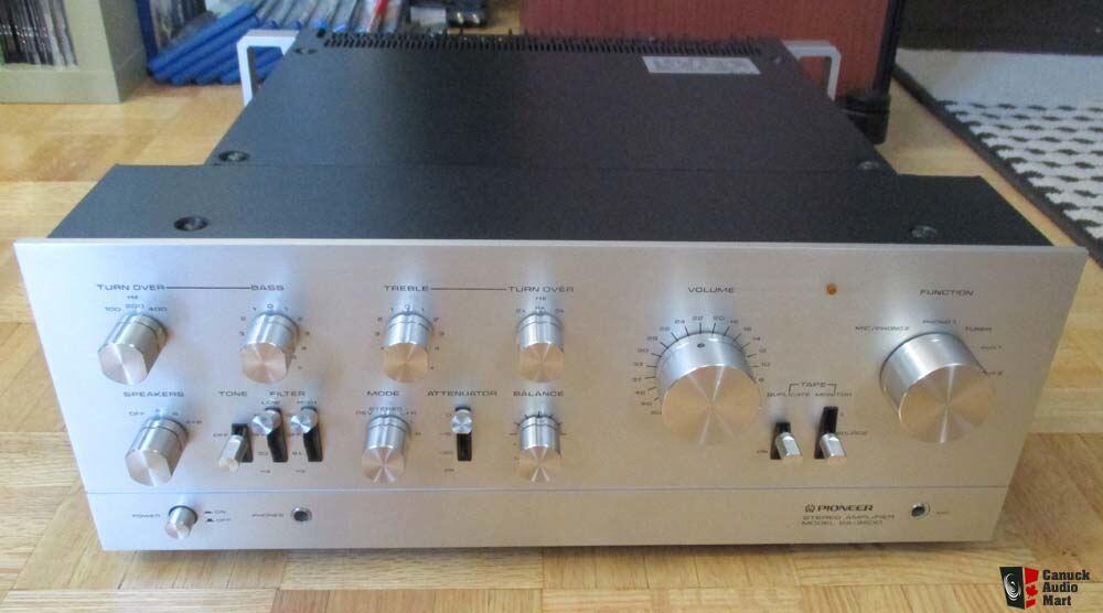 Vintage Pioneer Sa9500 Integrated Amplifier Photo 1335962