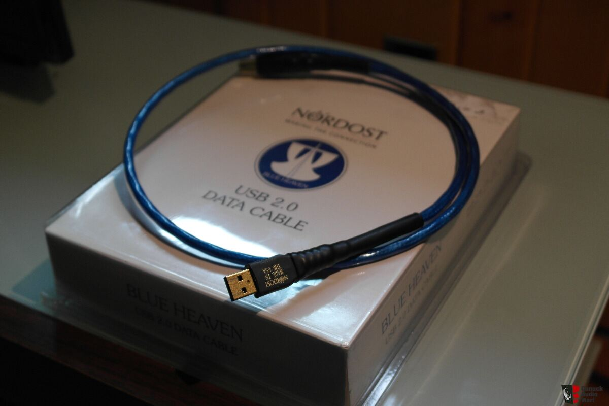 Nordost Blue Heaven A B Usb Cable Photo 1336566 Canuck