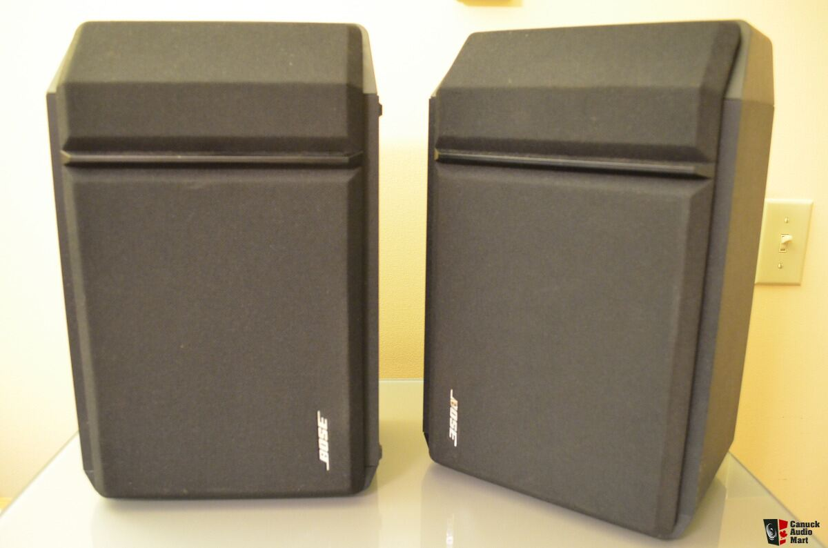 Bose 201 Series IV 2 Way Bookshelf Speakers Great Condition Made In Mexico 1996