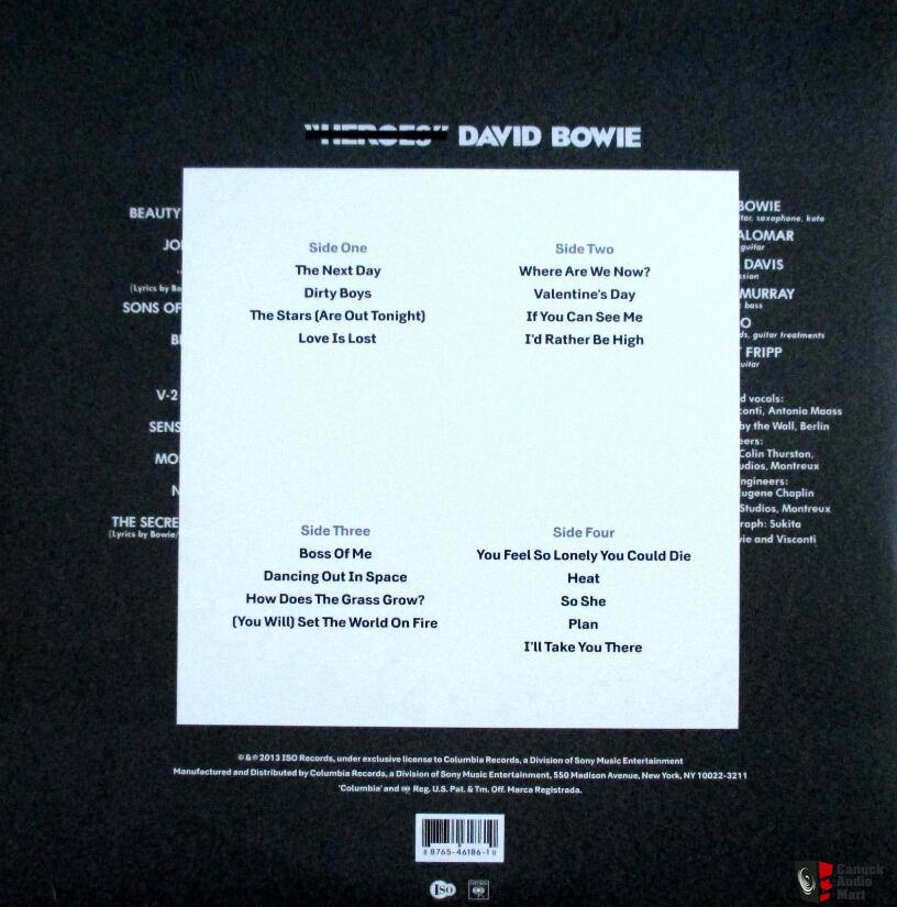 David bowie the next day vinyl download