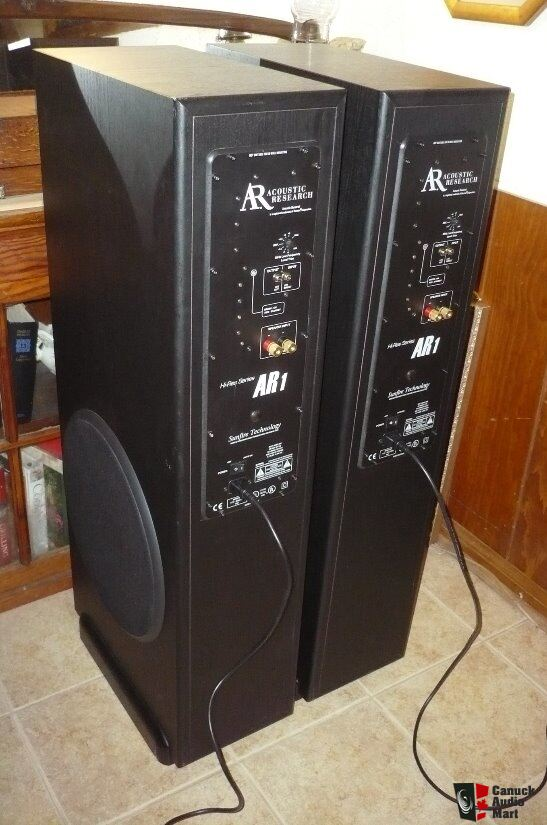 Acoustic Research Hi Res Series Ar1 Towers With Built In