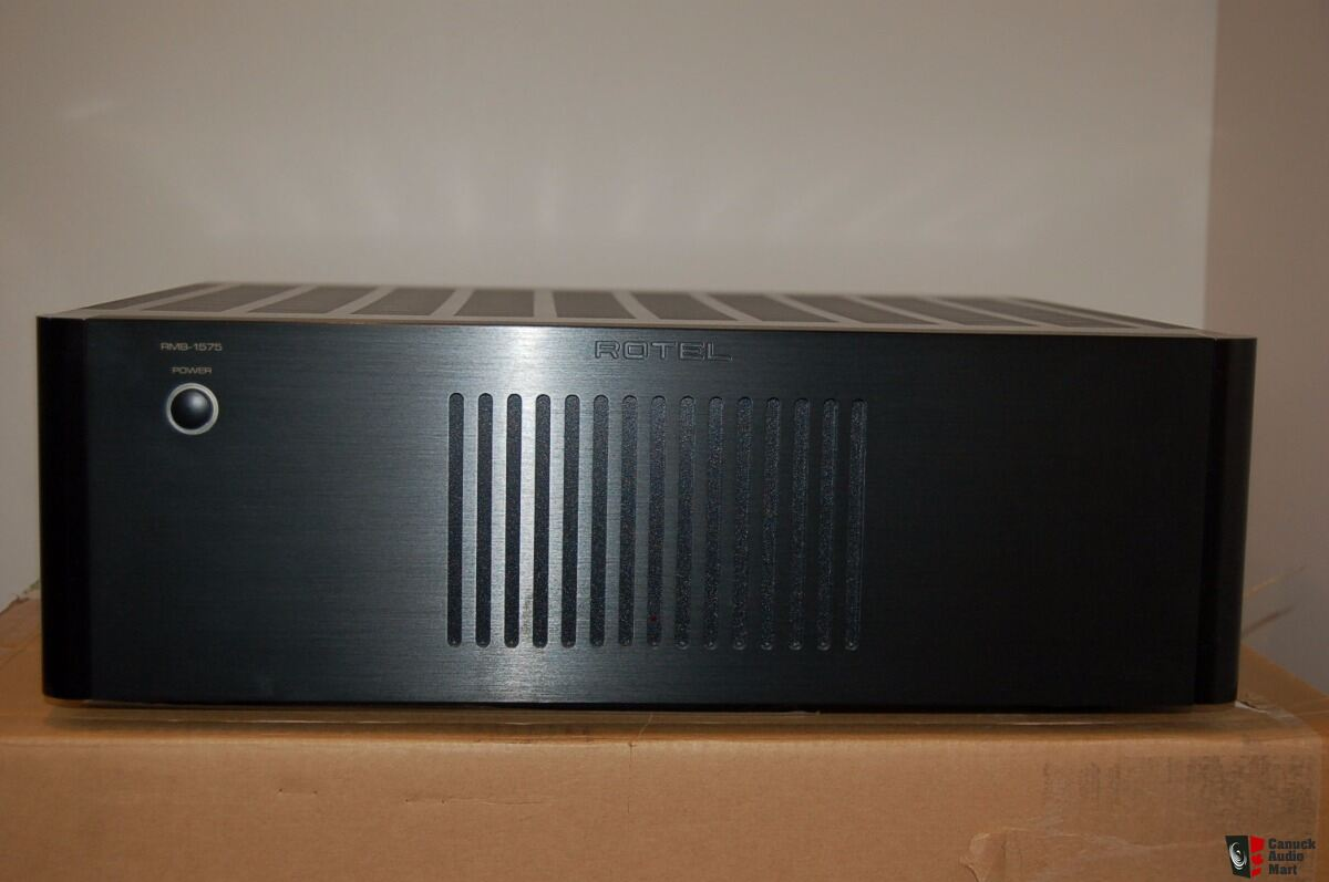 rotel rmb1575 home theatre power amplifier photo 1352425 canuck audio mart. Black Bedroom Furniture Sets. Home Design Ideas