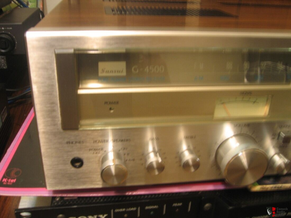 Sansui G-4500 Vintage Stereo Receiver Japan Cosmetics Very