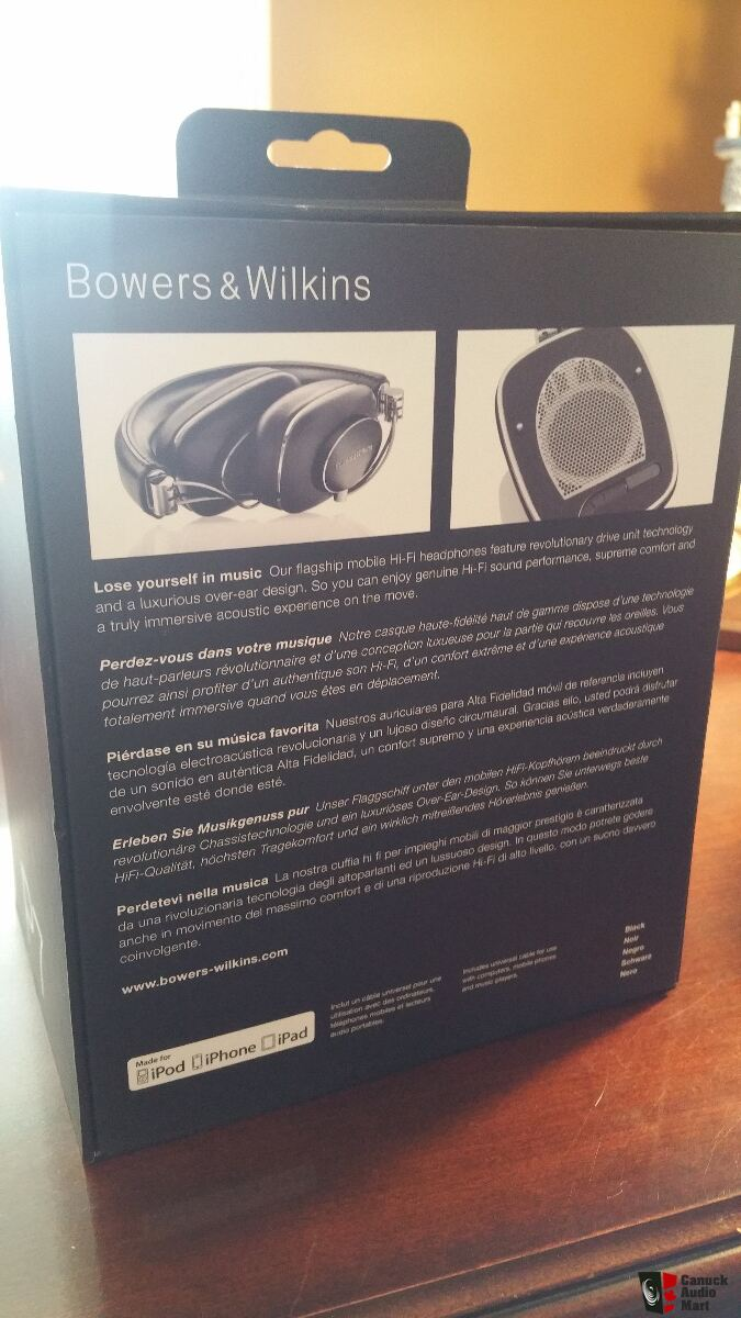 Bowers and Wilkins (B&W) P7 Audiophile Headphone and