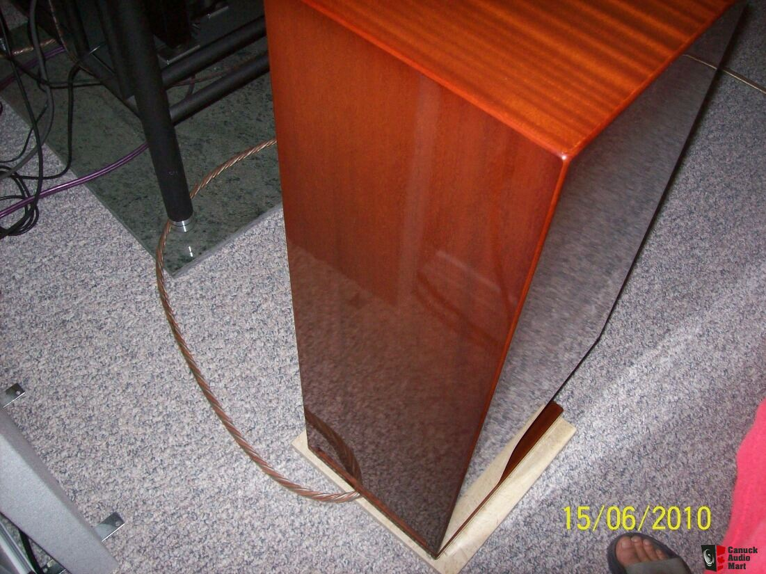 Energy 22 Reference Connoisseur Spkrs High Gloss Mahogany