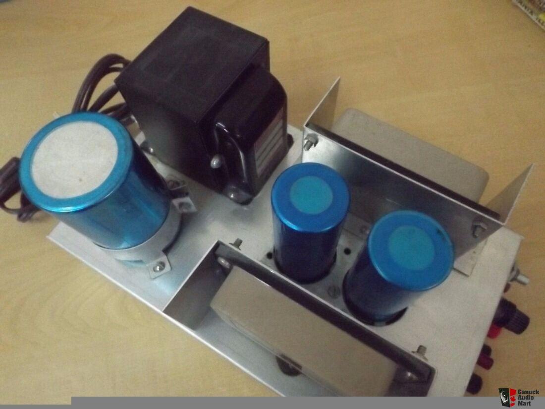 Custom HOMEMADE STEREO Sanken SI-1050S2 Hybrid Power TRANSFORMER Amplifier
