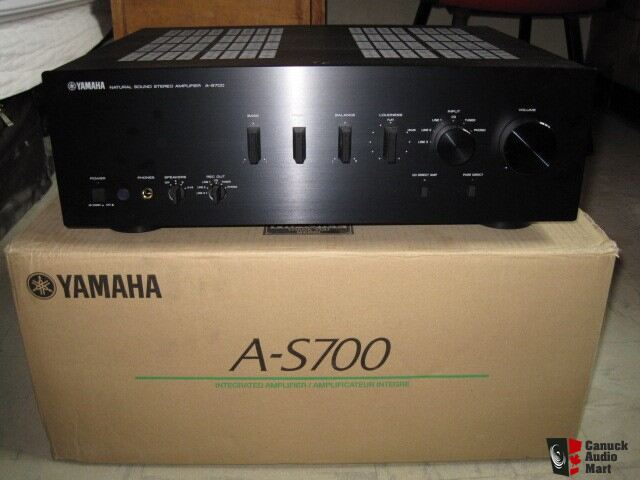 yamaha as700 integrated amplifier photo 137012 canuck. Black Bedroom Furniture Sets. Home Design Ideas