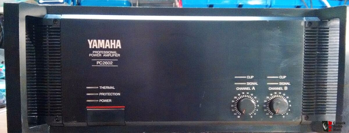 Yamaha PC 2602 Professional power amplifier
