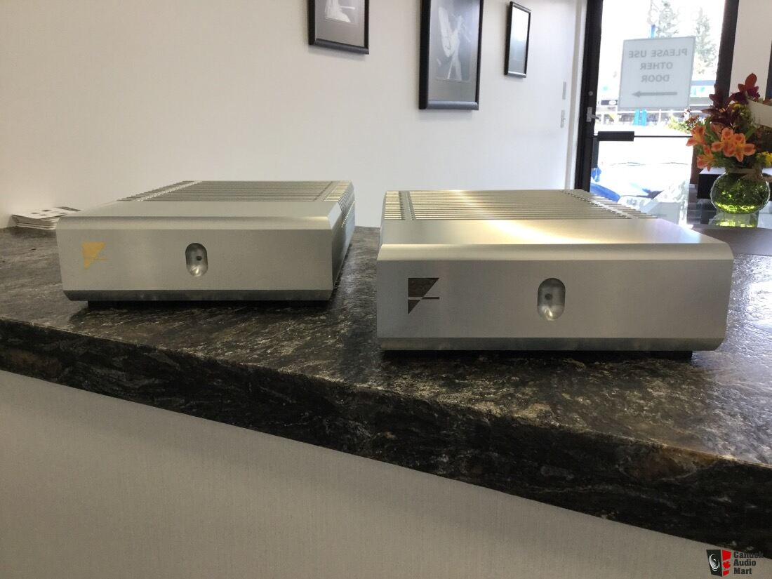 Ayre MX-R Mono Amplifiers in Silver Finish Photo #1375438 ...