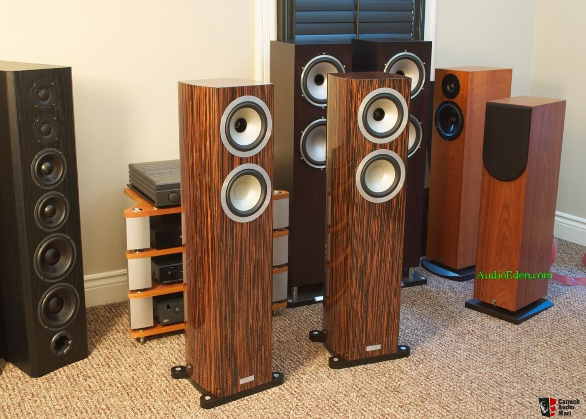 Tannoy Precision 6 2 Le Limited Edition In Gloss Ebony