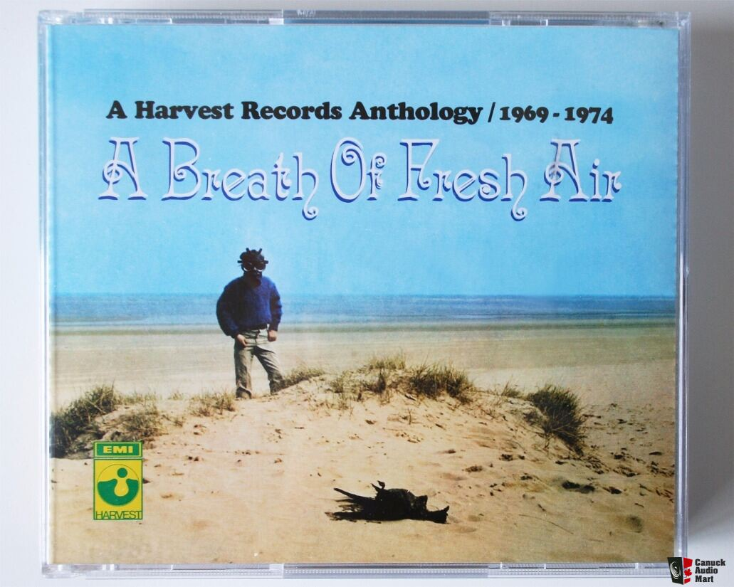 HARVEST Records Anthoogy 1969-1974 3CD Box + Early ELO 1971-1973 2CD Box UK