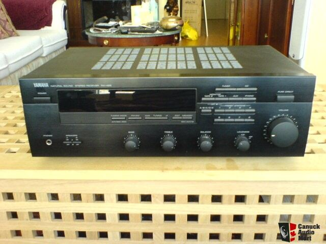 yamaha rx 495 natural sound hifi receiver photo 138282. Black Bedroom Furniture Sets. Home Design Ideas