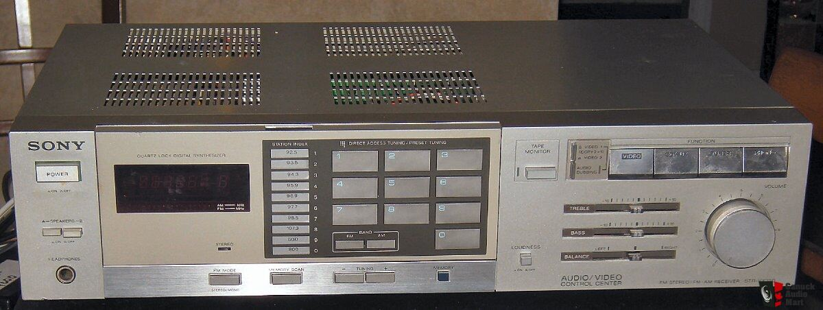 Vintage SONY STR-VX350 AM FM Stereo Receiver Superb Working Condition