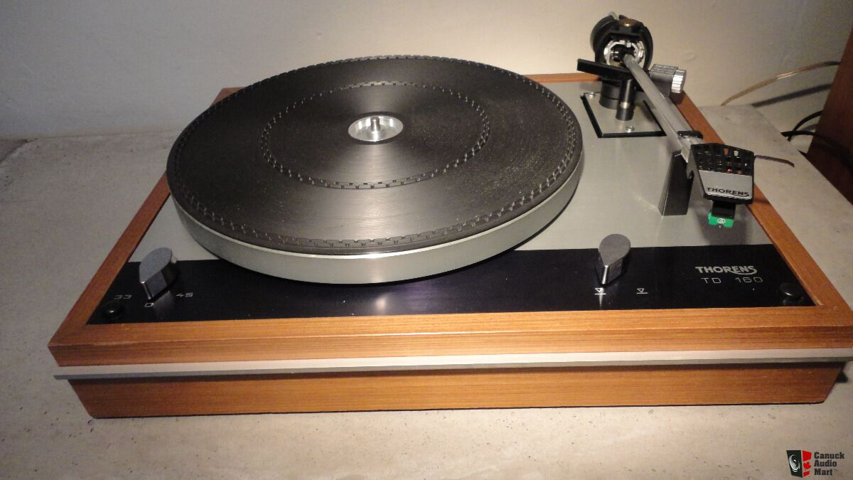 Thorens Td 160 Turntable Photo 1385242 Canuck Audio Mart