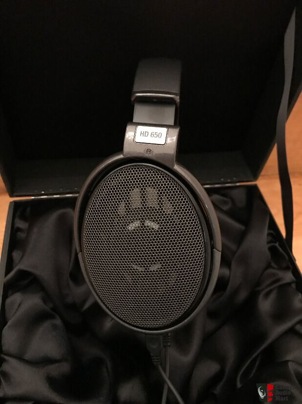 sennheiser hd 650 open back professional headphones photo 1385293 canuck audio mart. Black Bedroom Furniture Sets. Home Design Ideas