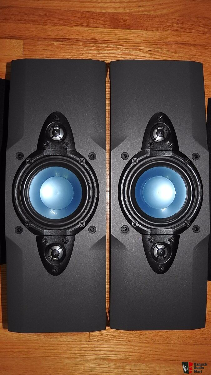 Dahlquist QX-80OW Large Heavy Bookshelf Speakers Made in Canada==price includes shipping