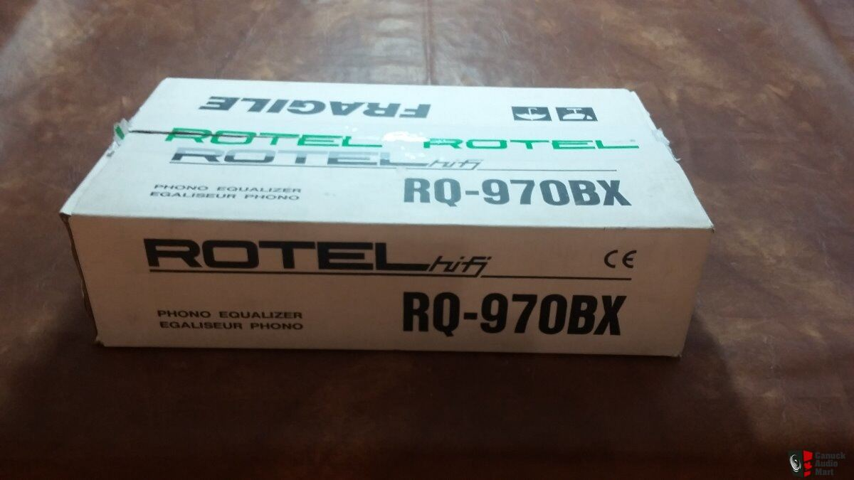 Rotel RQ-970BX Moving-Magnet/Coil Phono Preamp * PRICE REDUCTION