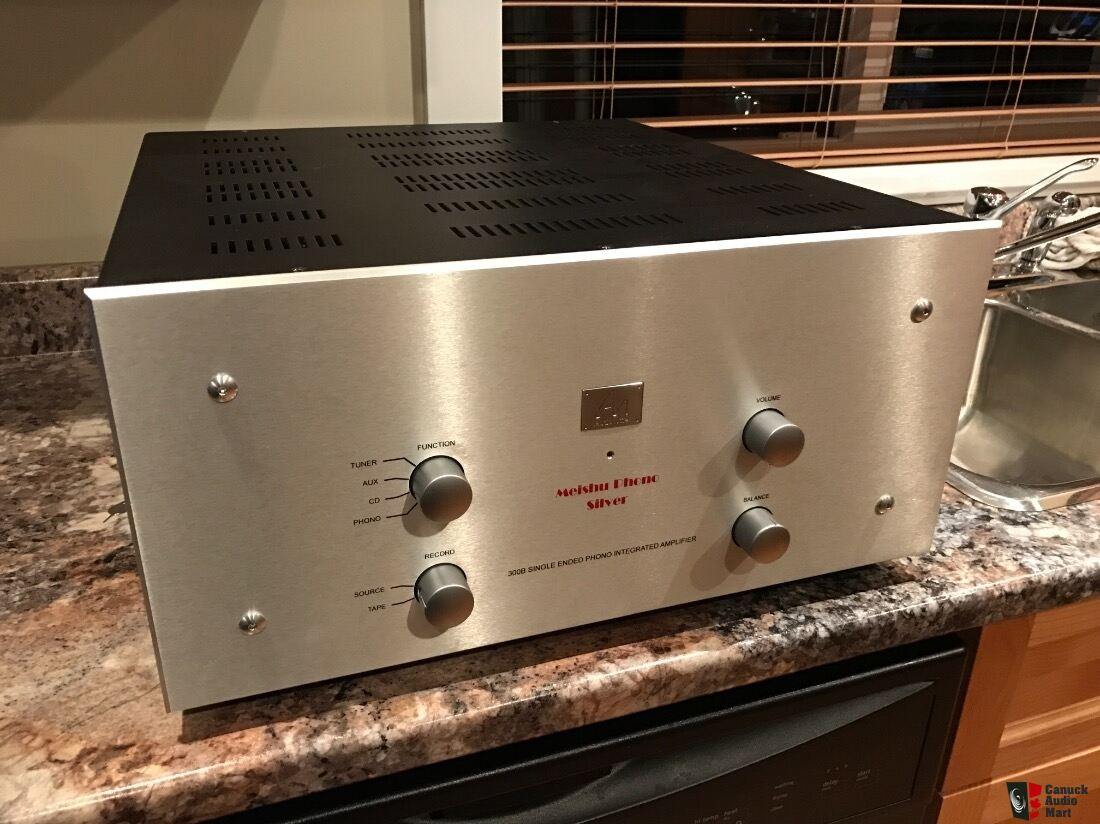 Audio Note Meishu Silver Phono 300B - SOLD Photo #1407834