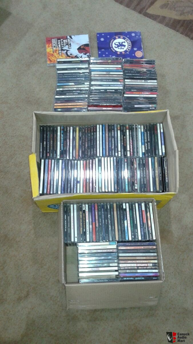 Cd collection about 180 disks+++added approximately 300 more!!!