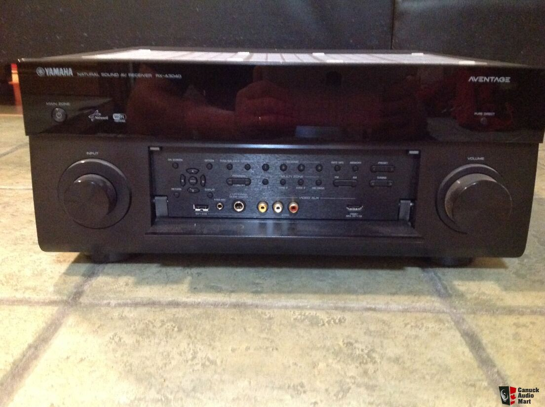 Yamaha rx a3040 home theater receiver photo 1408771 for Yamaha home theater amplifier