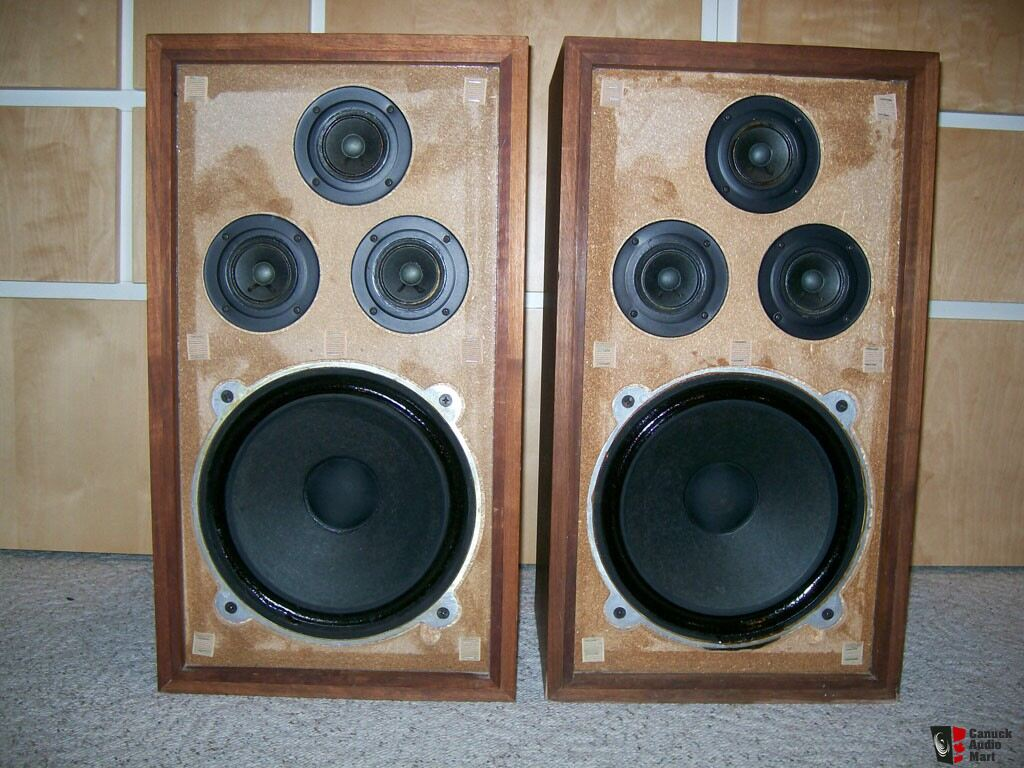 Realistic Optimus 5 Speakers Photo 141617 Canuck Audio Mart