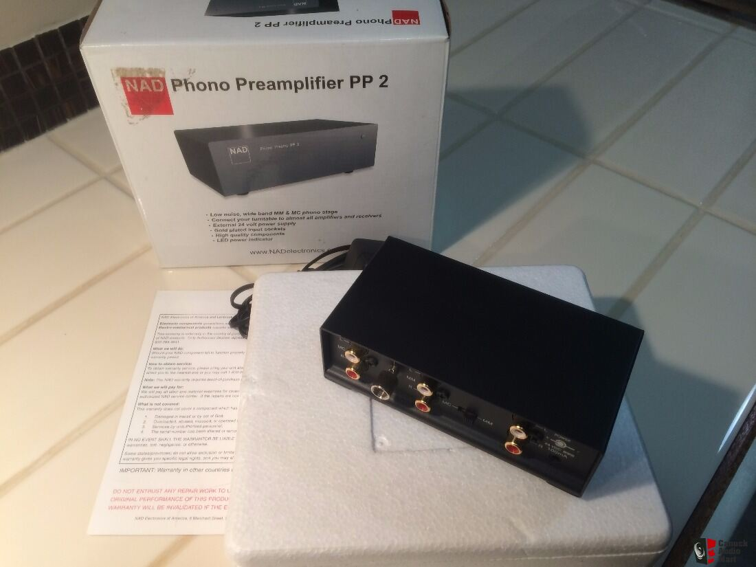 NAD PP2 Phono Preamplifier - Can be shipped!