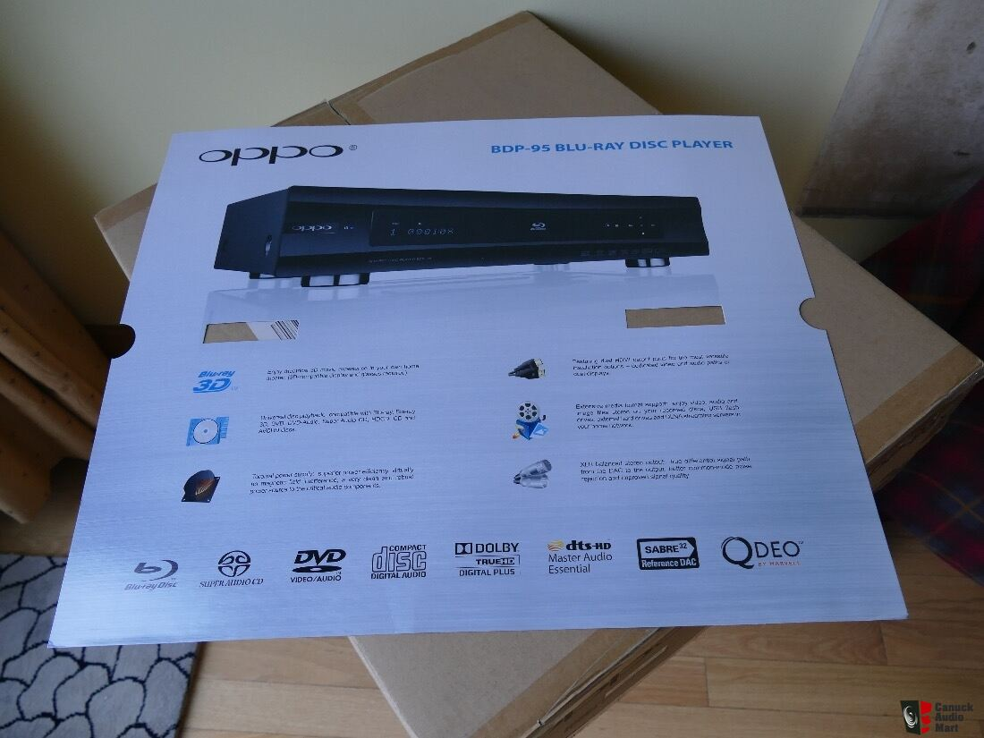 Lecteur blu ray oppo mod le bdp 95 latest firmware update mint photo 141753 - Lecteur blu ray mural ...