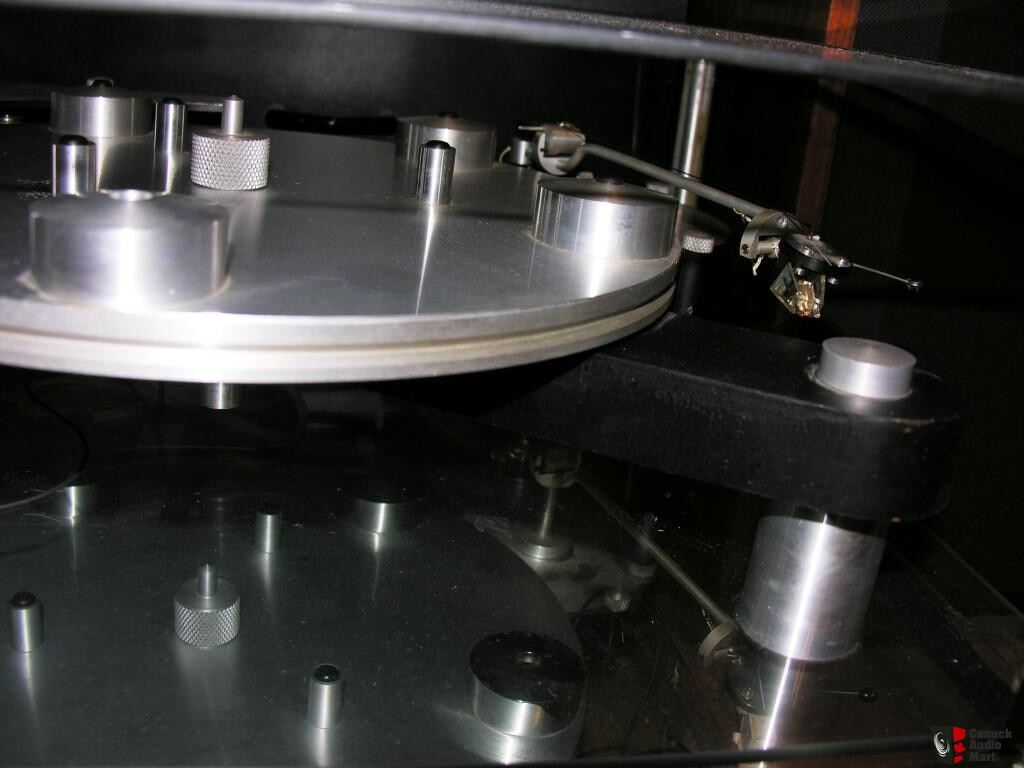 Transcriptor Skeleton Turntable For Parts