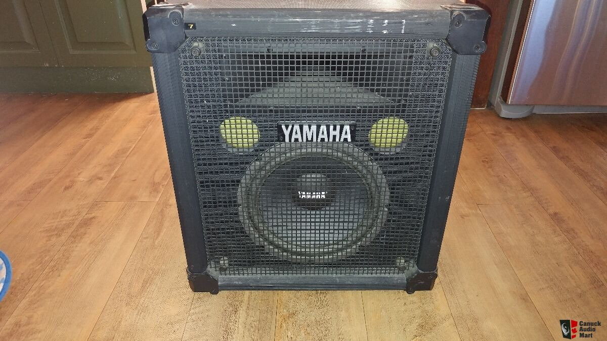 yamaha dj speaker s110h photo 1423035 canuck audio mart