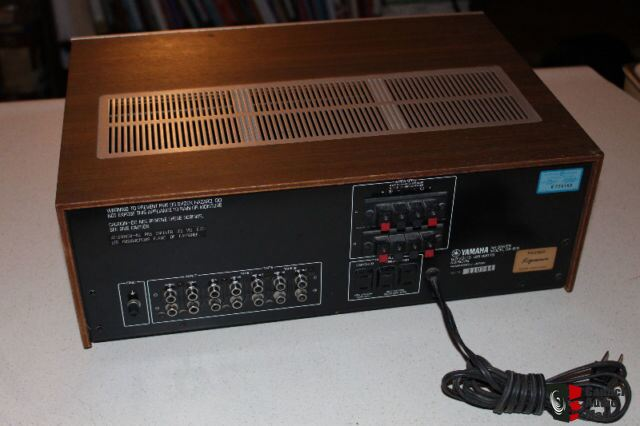 Vintage yamaha natural sound stereo amplifier ca 610 photo for Yamaha amplifier spotify