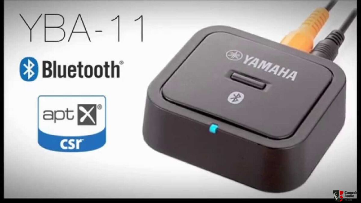 Yamaha yba 11 bluetooth wireless audio receiver photo for Yamaha audio customer service