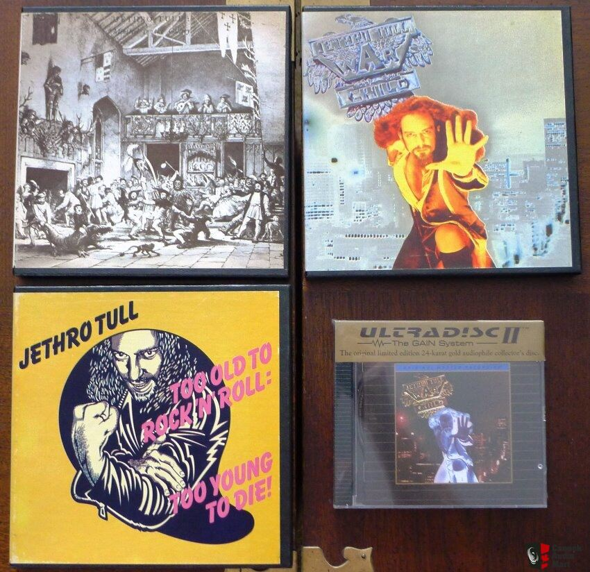 40th Anniversary Collector's Edition, Jethro Tull - Aqualung Box Set (Mint and Complete)