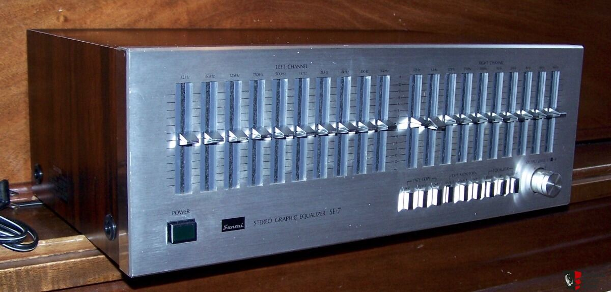 sansui se-7 stereo graphic equalizer Photo #1471119 - UK Audio Mart