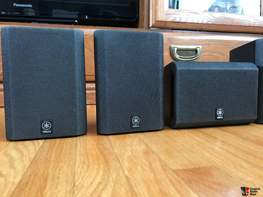 Yamaha NS-P220   two-way satellite speaker set