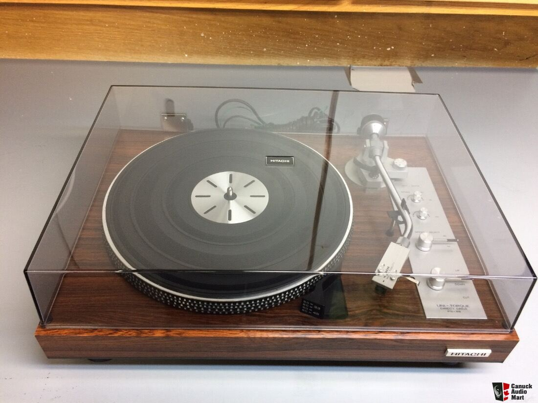 Hitachi PS-48 Turntable (sold pending pickup)