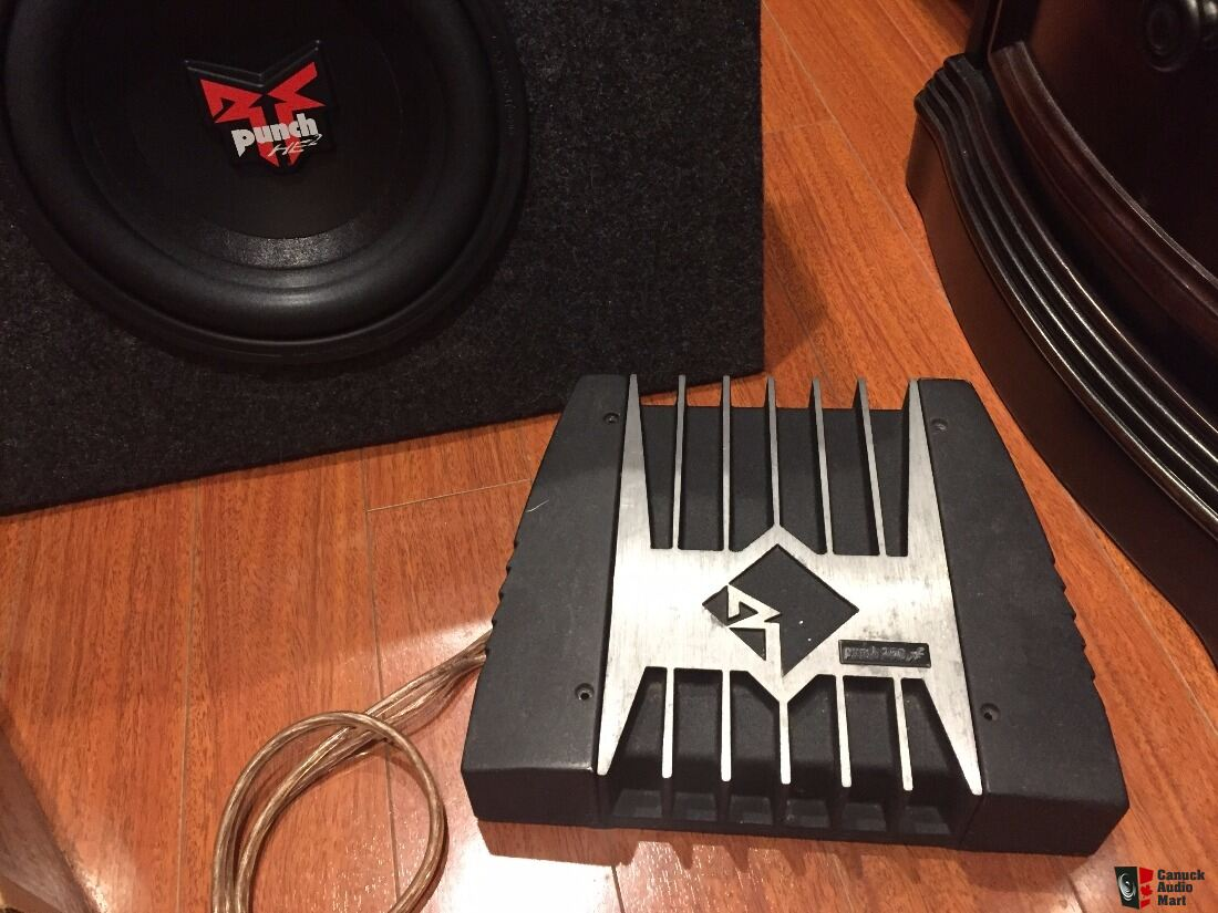 Rockford Fosgate 10 Punch He2 Subwoofer Box Specs