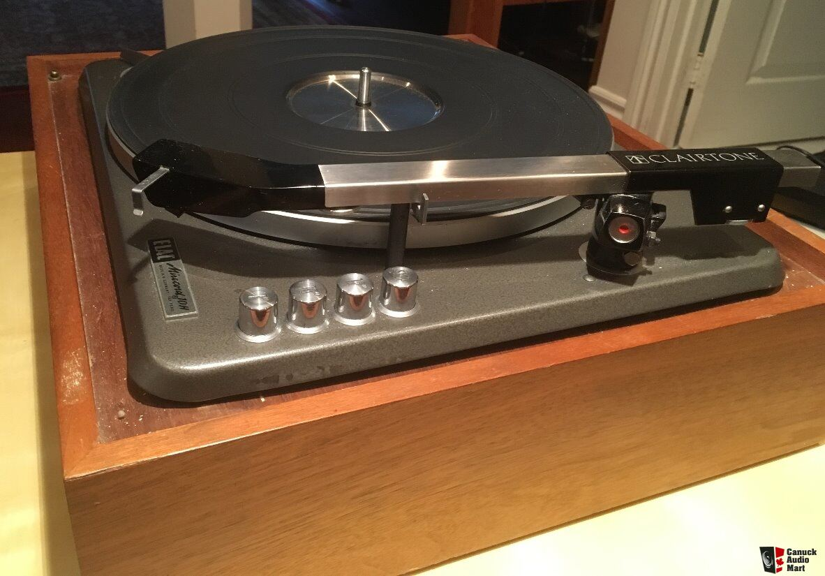 elac miracord 50h turntable manual