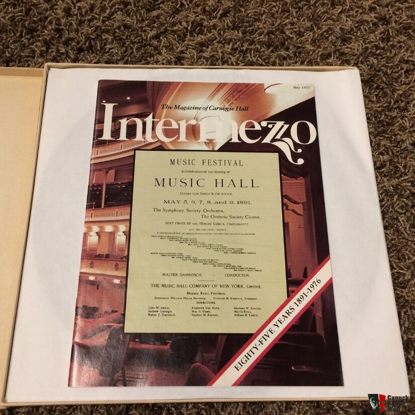 LP: Concert of the Century, Collectors item, 1976 Carnegie Hall, classical