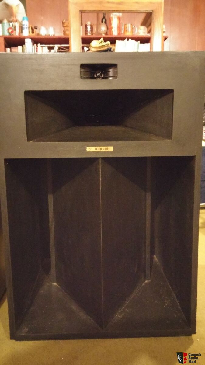 klipsch la scala speakers photo 1501406 canuck audio mart. Black Bedroom Furniture Sets. Home Design Ideas