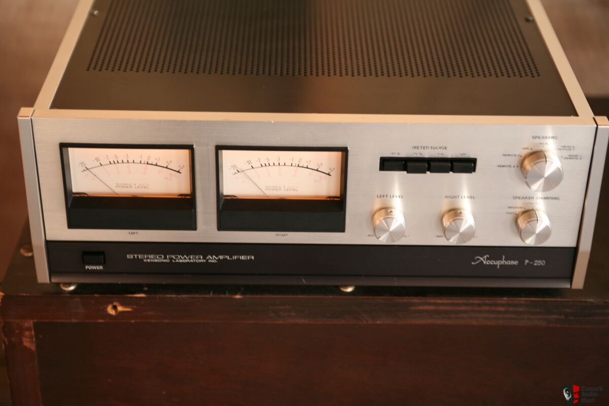 Accuphase P-250 power amp (sold) Photo #1503204
