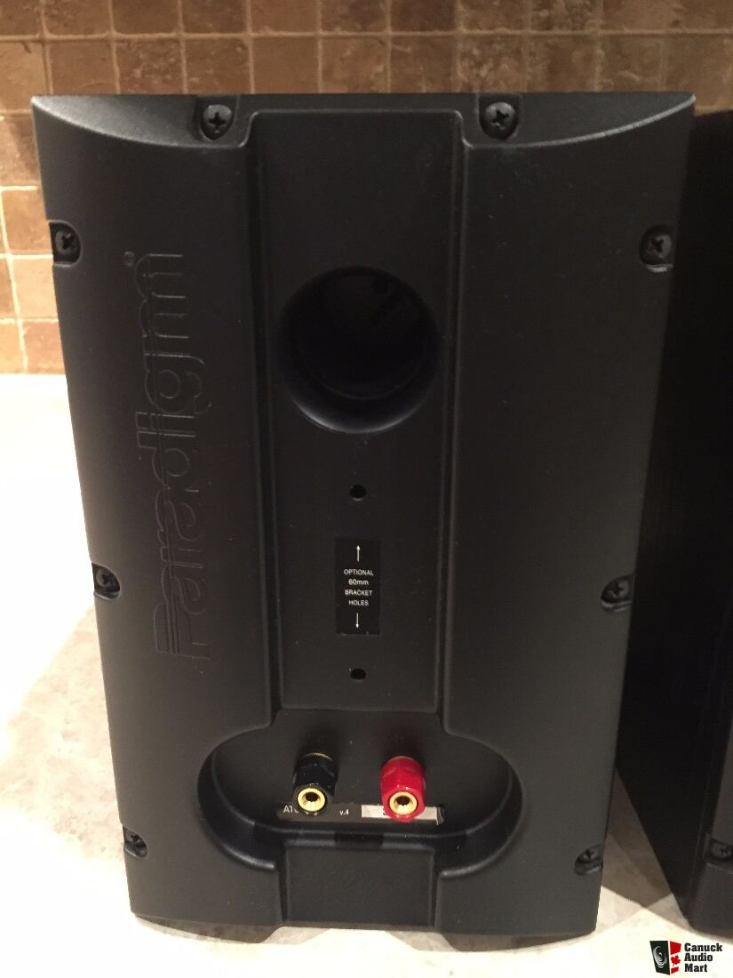 Paradigm V4 Atom Speakers