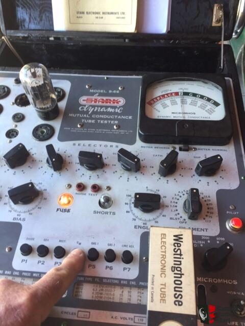 Stark Model 9-66 Military Surplus Dynamic Mutual Conductance