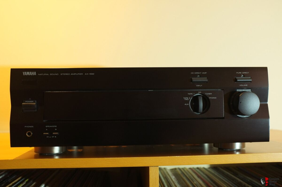 Yamaha ax 592 amplifier photo 1530708 canuck audio mart for Yamaha amplifier spotify