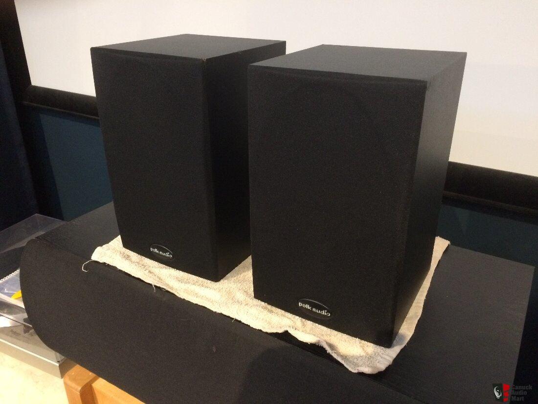 Polk Audio R10 Bookshelf Speakers 5 1 4